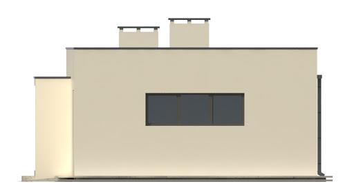 G202 - Budynek rekreacyjny z sauną - Elewacja prawa