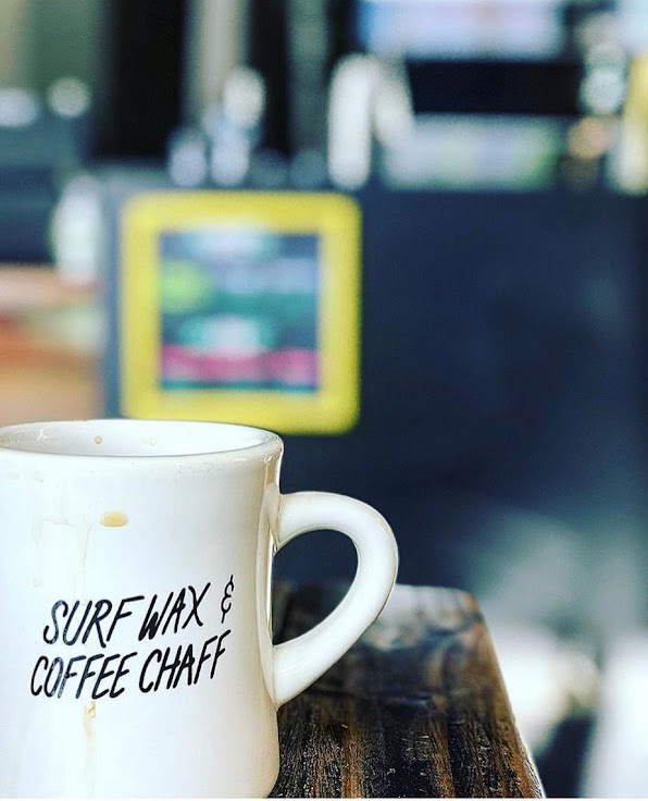 The theme of the day: Surf Wax & Coffee Chaff. Photo: Lord Windsor.