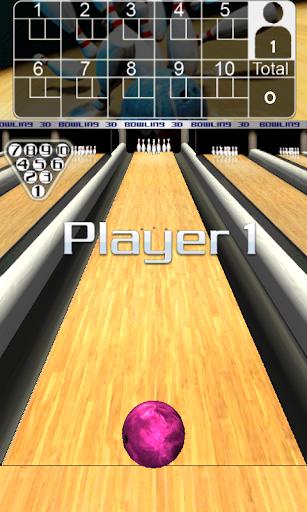3D Bowling  captures d'u00e9cran 2