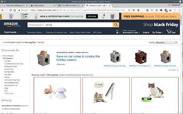 Amazon delivery check
