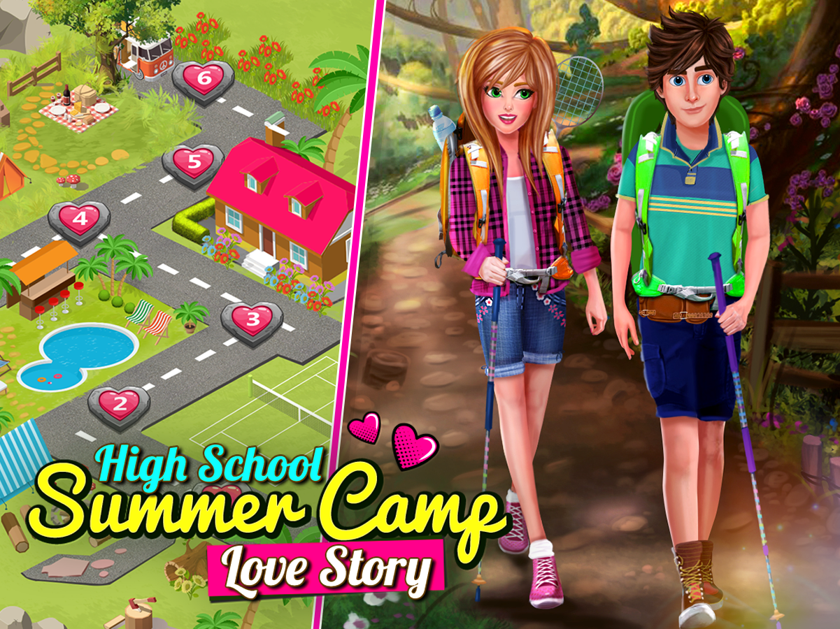 High School Story: Summer Camp Love - Teen Date- screenshot