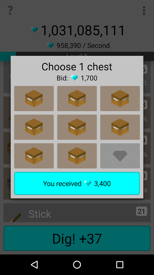 Diamond Clicker- screenshot