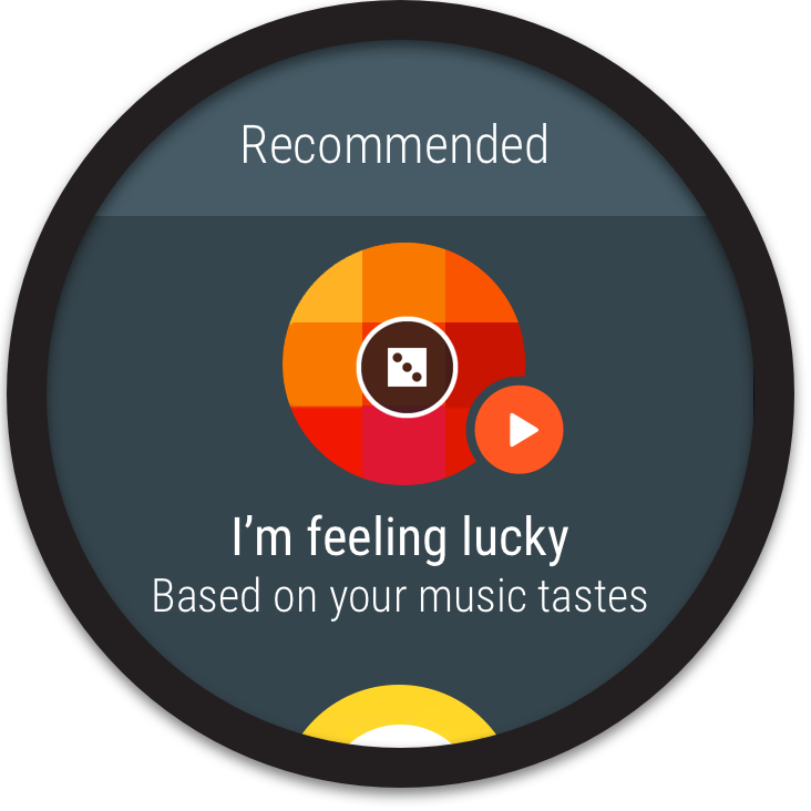 Google Play Music- screenshot
