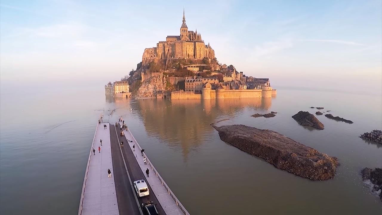 Добраться в Мон Сен-Мишель на машине - проезд, стоимость платных дорог, время в пути, расстояние до других городов, парковки возле Mont Saint-Michel.