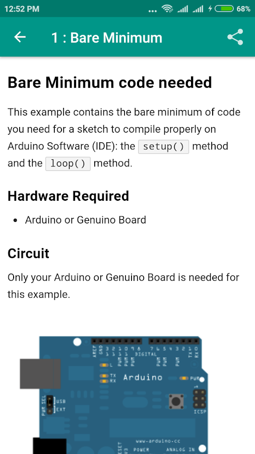 Arduino Tutorial- screenshot