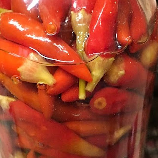 Peppers in Vinegar