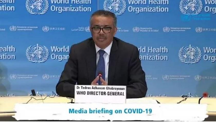 El director general de la Organización Mundial de la Salud. (OMS), Tedros Adhanom Ghebreyesus.