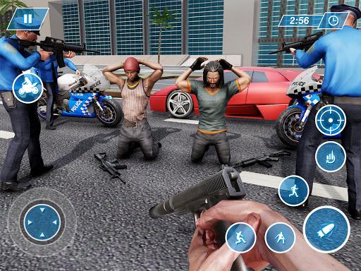 US Police Bike Chase 2020 3.7 screenshots 18