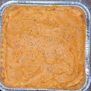 Mashed Sweet Potatoes With Thyme and Black Pepper