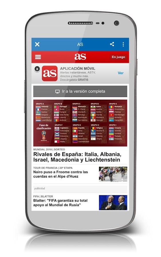 Diarios de espa a android apps on google play for Diarios de espectaculos online