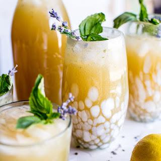 Lavender Basil Lemonade.