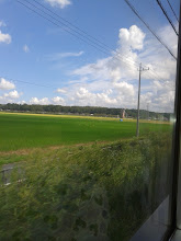 Photo: Passing the countryside, I was beginning to think Japan didn't have any
