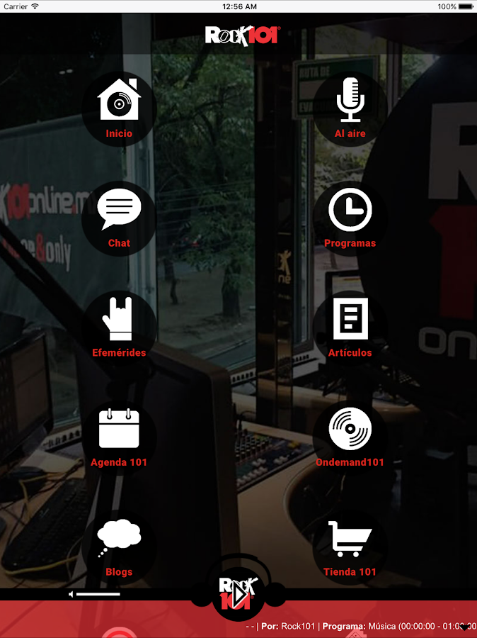 Rock 101 online- screenshot