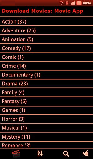 Download Movies App 4.0 screenshots 1