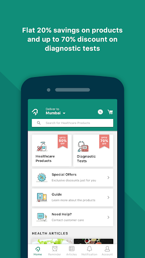PharmEasy - The Healthcare App 4.7.13 screenshots 1