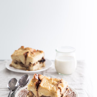 Apple Bourbon Bread Pudding Recipe