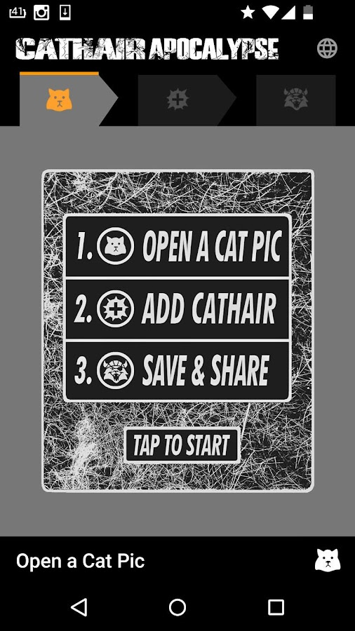 #CathairApp- screenshot