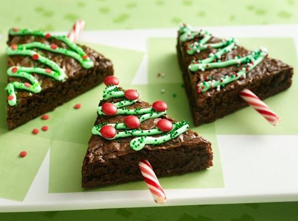 Holiday Tree Brownies Recipe
