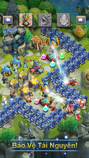 Castle Clash: Quyu1ebft Chiu1ebfn - Gamota  screenshots 3