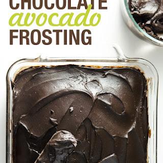 Dark Chocolate Avocado Frosting.