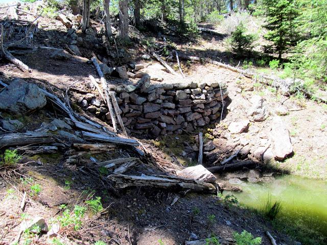 Dam(?) at Twin Lakes