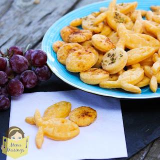 Homemade Cheesy Goldfish Crackers