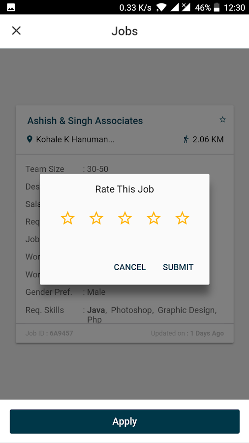 Worknrby - Job Search- screenshot