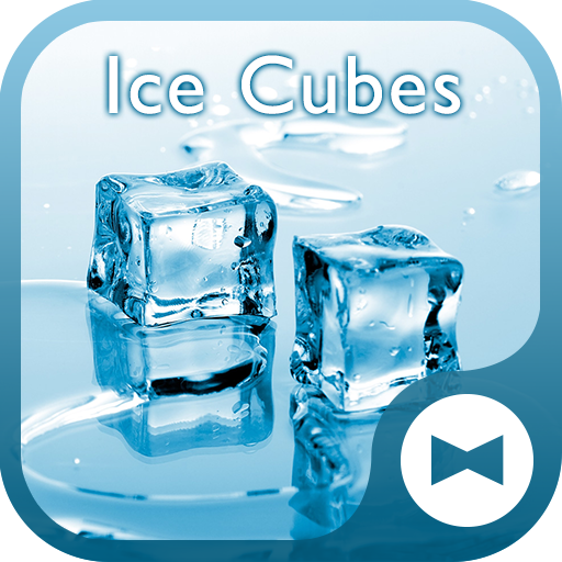 Cool Wallpaper Ice Cubes Theme Icon
