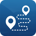 Track My Travels: GPS Share Maps Photos Waypoints icon