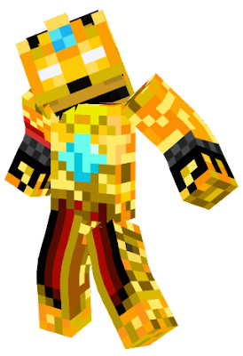 This is a king or what a king version of Herobrine might look like with gems, armor, and more! Please to use this skin. :)