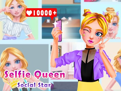 Selfie Queen Social Superstar: Girls Beauty Games- screenshot thumbnail