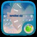 Unruffled sky GO Keyboard icon