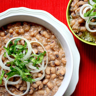 Clean Eating Vegan Slow Cooker Black-Eye Peas (Vegan, Gluten-Free, Dairy-Free)