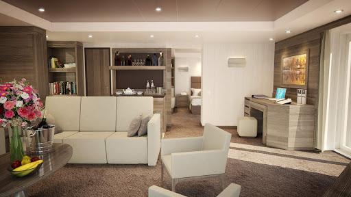 Yacht-Club-Royal-Suite-living-room.jpg -  The living room area of the Royal Suite on MSC Meraviglia.