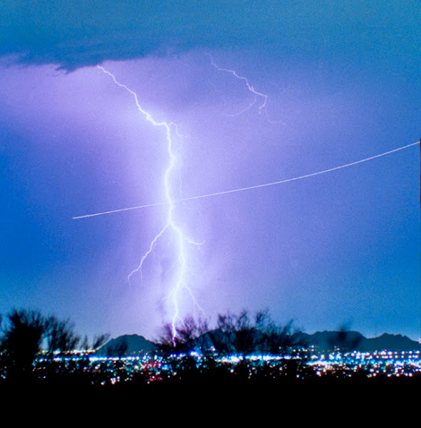 Photo: Bo Trek 2 #Photography www.BoInsogna.com #nature #Lightning #Arizona #InsognaGallery