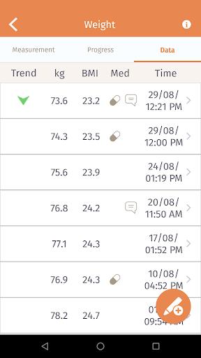 Beurer HealthManager 2.7.3 screenshots 4