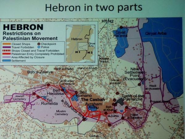 Hebron divisa