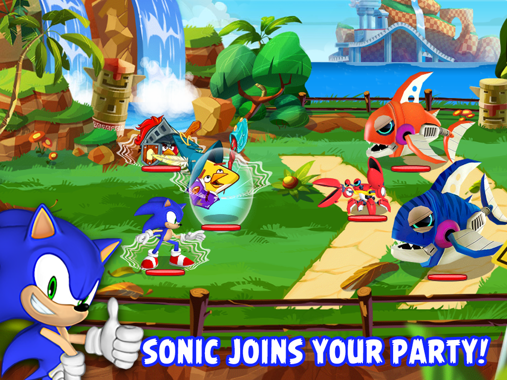 Angry Birds Epic feat. Sonic- screenshot