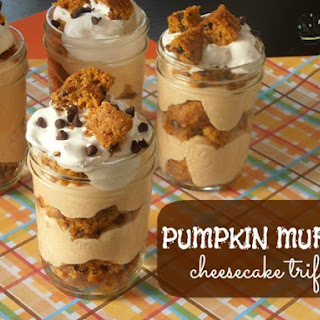 Pumpkin Muffin Cheesecake Trifle