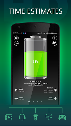 Battery HD Android App Screenshot