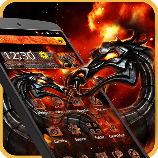 Fire Dragon Legend Launcher