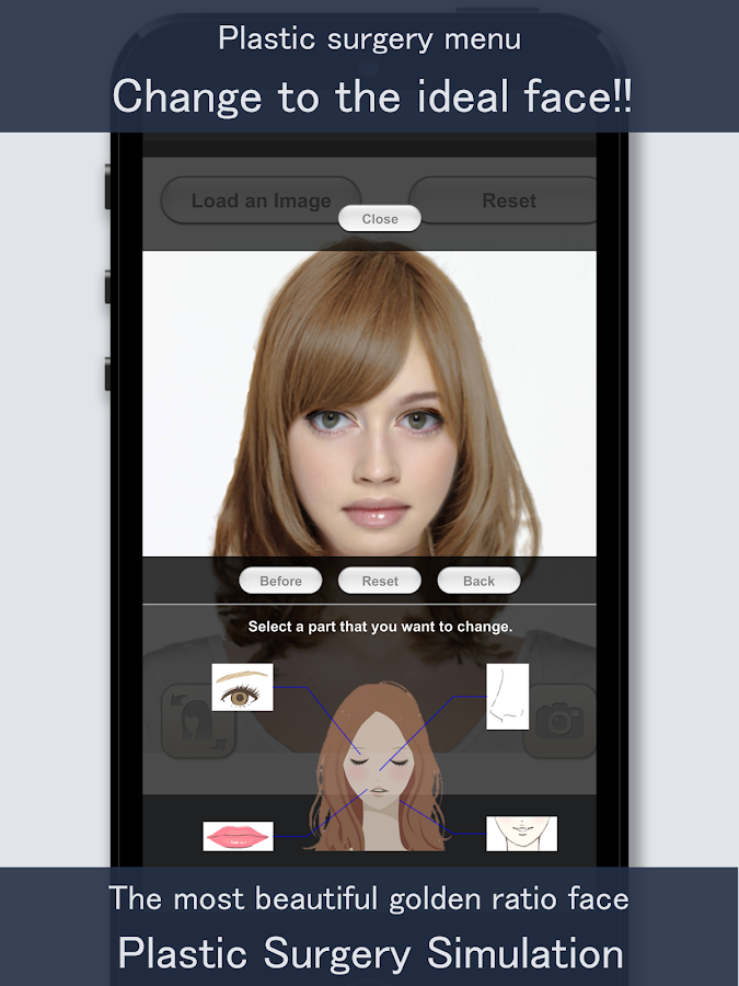 ... Virtual Hairstyles For Women Over 50 under Hair Color Change Simulator