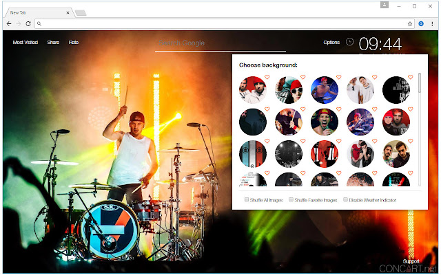Twenty One Pilots Wallpaper HD New Tab
