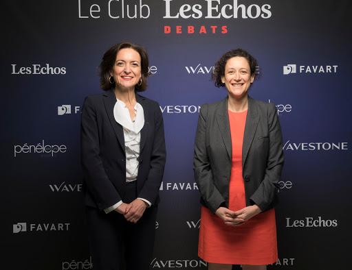Club Les Echos Prospective avec Emmanuelle Wargon et Sylvie Jéhanno