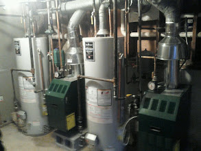 Photo: 2 New boilers and water heaters in Long Beach, NY after Sandy