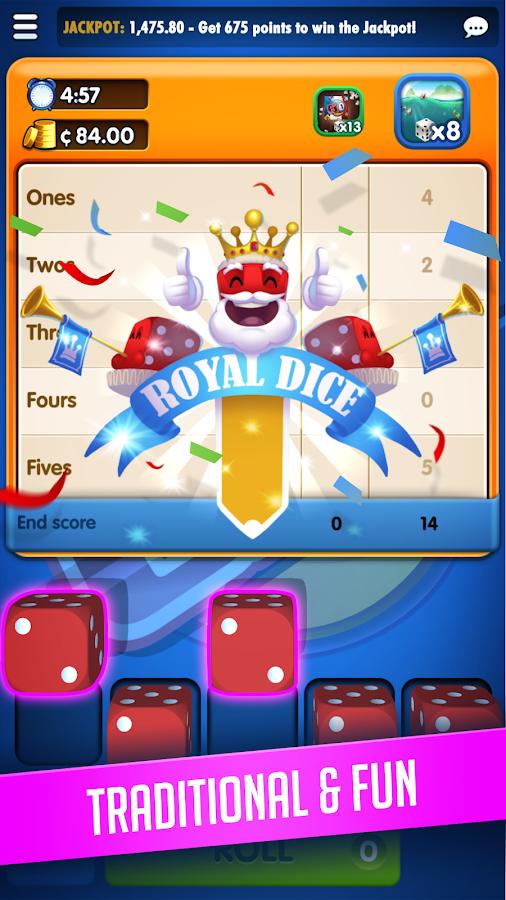 RoyalDice by GamePoint - Android Apps on Google Play  RoyalDice by Ga...