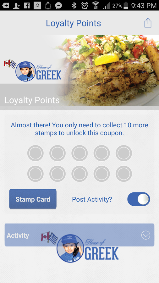 The House of Greek Restaurant- screenshot