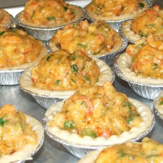 New Orleans Style Crawfish Pies.