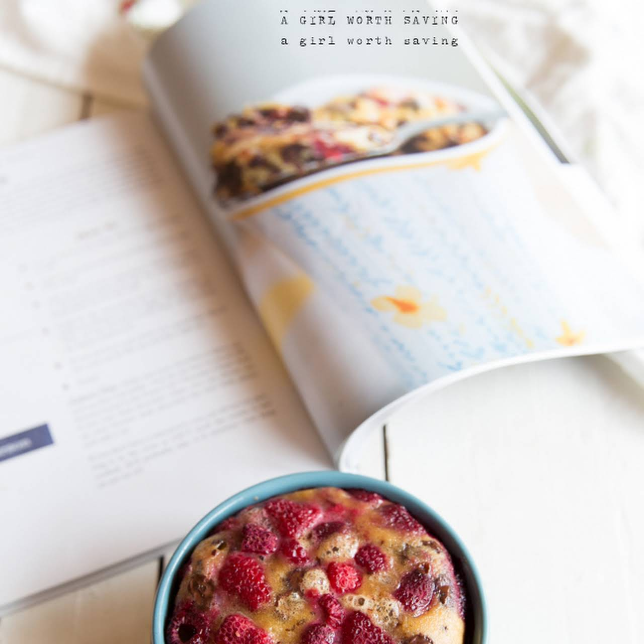 Paleo Raspberry Mug Cake and Meal Planning  not far off from A Budget