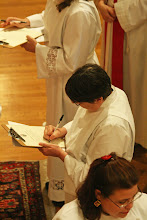 Photo: Suzanne LeVesconte signs the Declaration of Intention